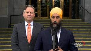 Federal Election 2019: Singh says NDP would declare a national public health emergency over opioid crisis