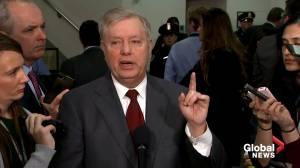 Graham says 'somebody needs to look at' Joe Biden