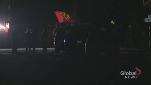 Tyendinaga blockade remains after midnight deadline with no sign of police | Watch News Videos Online