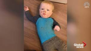 Oregon baby rescued from a heating duct vent