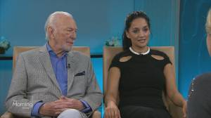 'Departure' stars Christopher Plummer and Archie Panjabi on the new series (03:12)