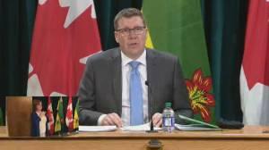 Saskatchewan expanding COVID-19 vaccine eligibility, reopening drive-thru clinics (04:38)