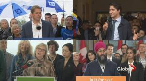 Federal Election 2019: Leaders descend on B.C.