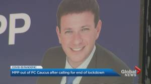 Toronto MPP ousted from PC caucus for letter calling for end of coronavirus lockdown (02:17)
