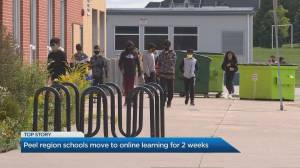 Parents scramble with transition to online learning as schools close in Peel region (03:59)