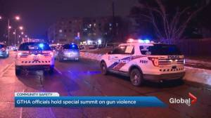 Toronto mayor hosts gun violence summit for GTHA police and politicians