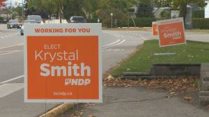 Meet the three candidates hoping to replace retiring Liberal MLA Steve Thomson (03:48)