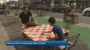 Pop-up aims to showcase safer Toronto streets