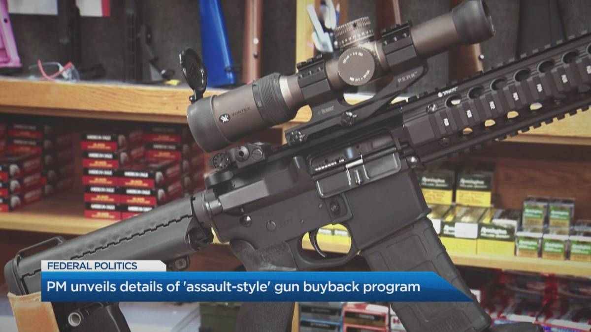 Click to play video: 'PM Justin Trudeau unveils new legislation to crack down on gun violence'