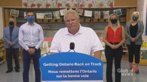 Coronavirus: Ford defends decision to run ads about back-to-school plan