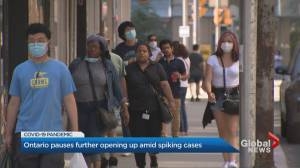 Coronavirus: Ontario government halts loosening restrictions for 14 days