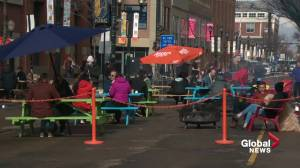Could 104 Street become a pedestrian promenade in downtown Edmonton? (01:50)