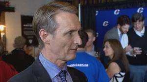 Federal Election 2019:​ Conservative Greg McLean speaks about Calgary Centre win