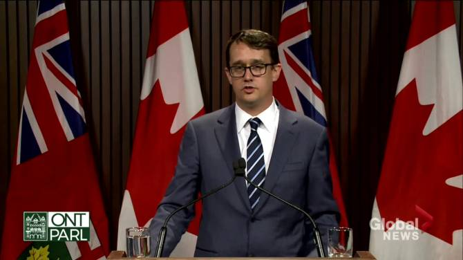 Click to play video: Ontario's new COVID-19 sick day program temporary, meant to get province through pandemic: labour minister