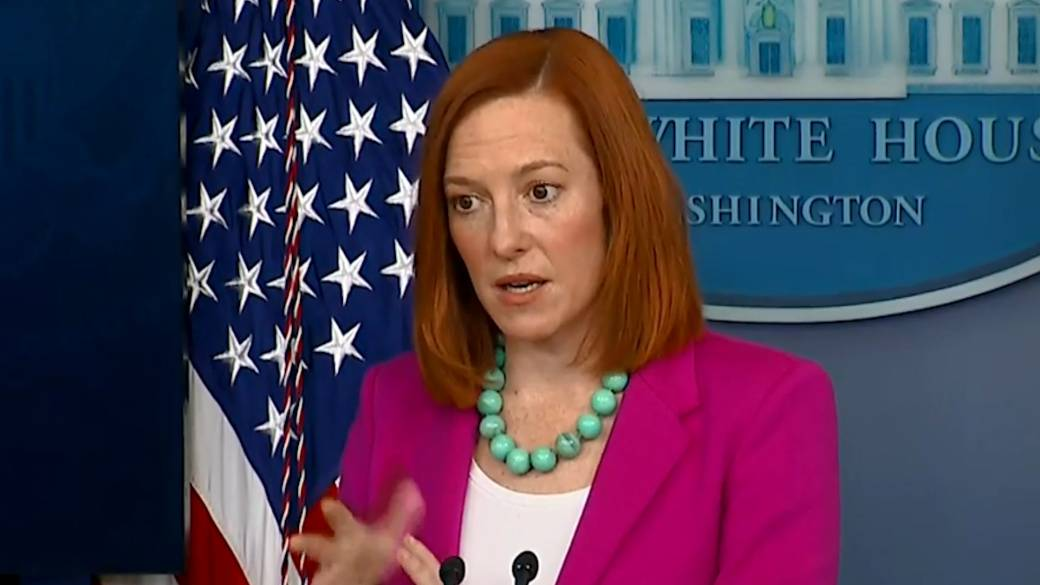 Click to play video: 'White House says Biden' did not hold back 'in phone call with Putin'