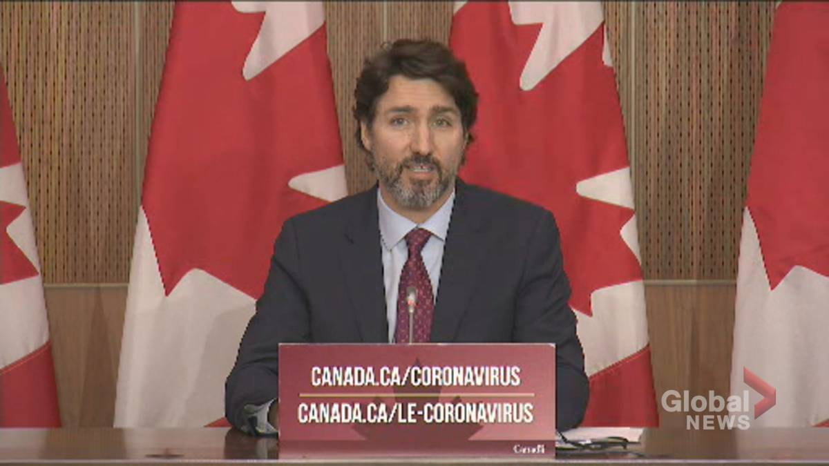 Click to play video 'Coronavirus: Trudeau announces deal securing early delivery of Pfizer-BioNTech vaccine'