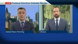 Recap of the final federal election debate (05:18)