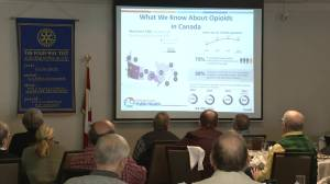 Rotarians get update on opioid crisis