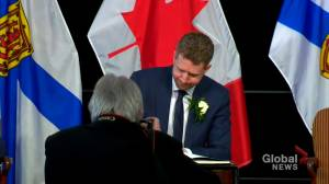 Iain Rankin sworn-in as 29th premier of Nova Scotia (02:12)