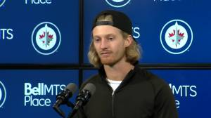 RAW: Winnipeg Jets Kyle Connor – Sept. 30