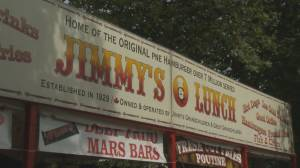 Squire at the PNE: 90 years of 'Jimmy's Lunch'