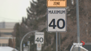 Play video: Edmonton city councillors move to reduce residential speed limit to 40 km/h