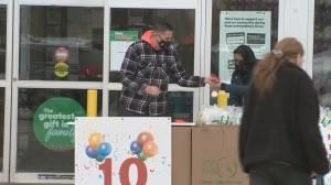 Edmonton's Can Man Dan celebrates 10 years of fundraising (05:35)