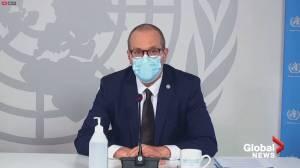 Coronavirus: WHO says vaccine makers working non-stop to plug supply gap (02:19)