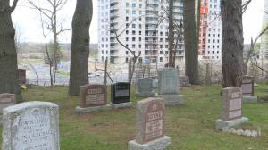 Concerns raised about tall apartment buildings proposed to be built next to a cemetery
