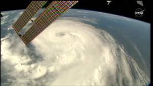 ISS captures breathtaking view of Hurricane Dorian as seen from space