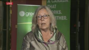 Canada election:  Former leader Elizabeth May on future of the Green Party (03:04)