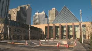 Edmonton city councillors debate city employee numbers, tax increases following provincial budget