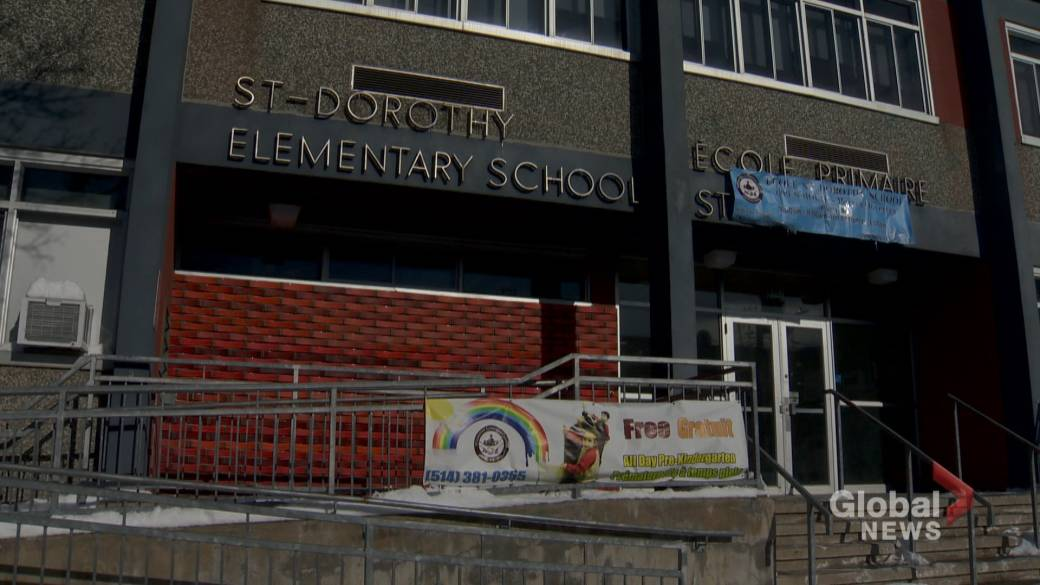 Students, staff at St. Dorothy Elementary come together to cope with EMSB school closures