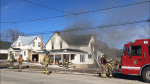 Fire rips through home on County Road 40 in Norwood