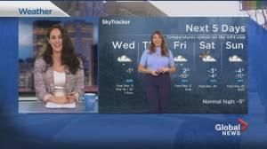 Global News Morning weather forecast: February 3, 2021 (01:49)