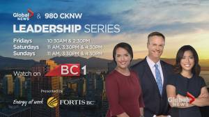 Global News & 980 Leadership series returns for 2019 (01:09)