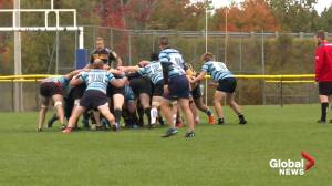 First rugby 15s match of 2020 played in Nova Scotia (02:03)