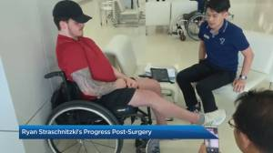 Progress report on Ryan Straschnitzki's surgery in Thailand
