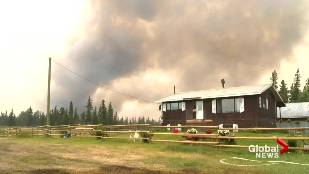 'Calls turn  for BC to state  wildfire emergency'