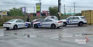 Peterborough police assist distraught woman in vehicle at Walmart parking lot (00:50)