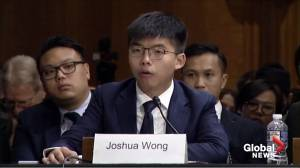 Activists push U.S. Congress to pass Hong Kong bill