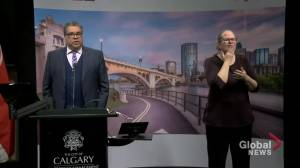 Nenshi discusses use of convention centre for Calgary's homeless during COVID-19 pandemic