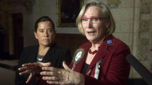 Crown-Indigenous Minister Bennett apologizes for 'racist' text to Wilson-Raybould (02:57)