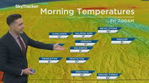 Kelowna Weather Forecast: September 10