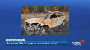 Police find burned vehicle near Huntsville that belonged to Helen Sedo (01:42)
