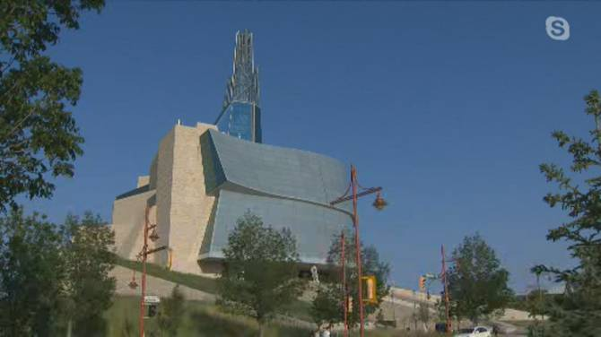 Click to play video: Canadian Museum for Human Rights reopening