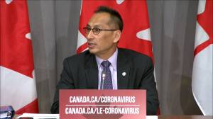 Coronavirus: People should 'appreciate' the 'vastly different' COVID-19 situations in Canada and the U.S. Dr. Njoo says