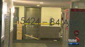 Police investigate after body found in west Edmonton apartment building