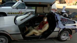 'Ghostbusters' go 'Back to the Future' at Halloween event to support Calgary military veterans