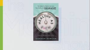 Oonagh Duncan's new book, Healthy as F*ck